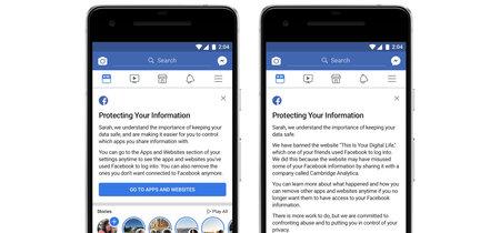 Facebook te dirá si eres uno de los 87 millones de usuarios afectados por el caso Cambridge Analytica