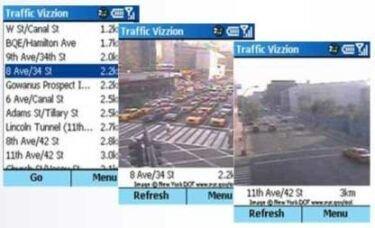Cámaras de tráfico en el móvil