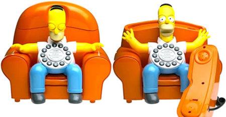 ¡Homer despierta, tienes una llamada!
