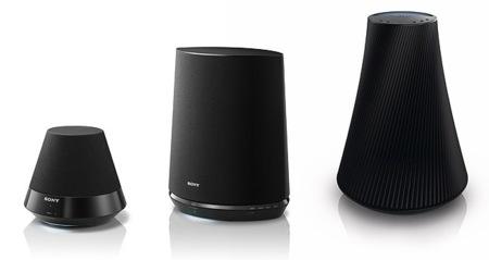 Sony SA-NS, altavoces inalámbricos de puro diseño