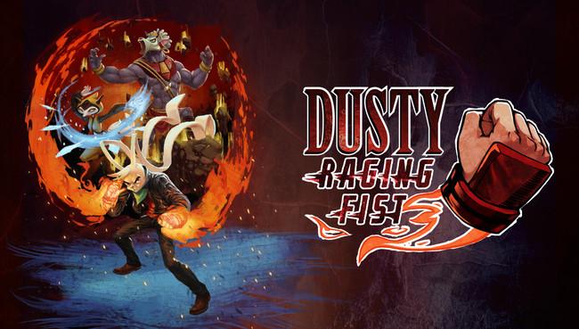 Los animales del beat'em up Dusty Raging Fist se apuntan a repartir mamporros en Nintendo Switch