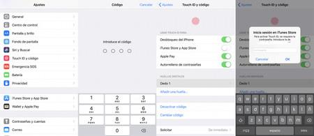 Huella iOS