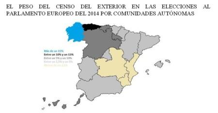El Peso Del Voto Por Provincias