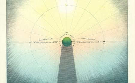 Los mapas celestiales de los muggletonians, la secta que imaginó el universo según la Biblia