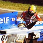 Érik Comas, el piloto de Fórmula 1 que no pudo salvar la vida de Ayrton Senna