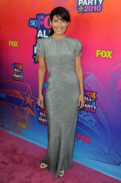 Look fiesta veraniega de Fox 2010 TCA. Lisa Edelstein