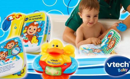Juguetes y libros electrónicos resistentes al agua