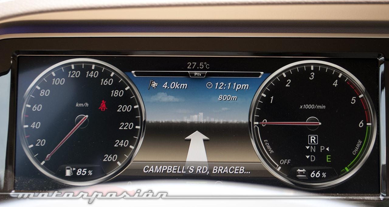 Mercedes Benz Clase S 2013 Presentacion 6 73