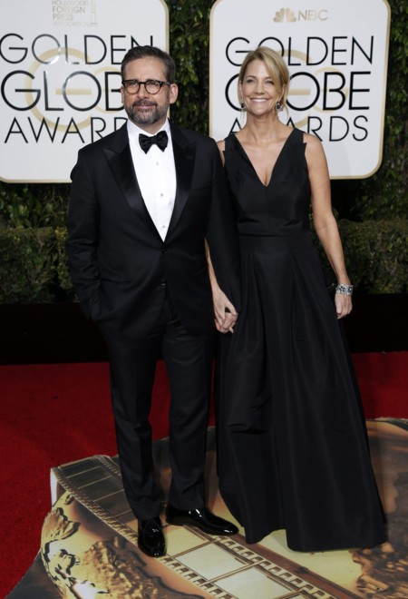 Steve Carell y Nancy Walls