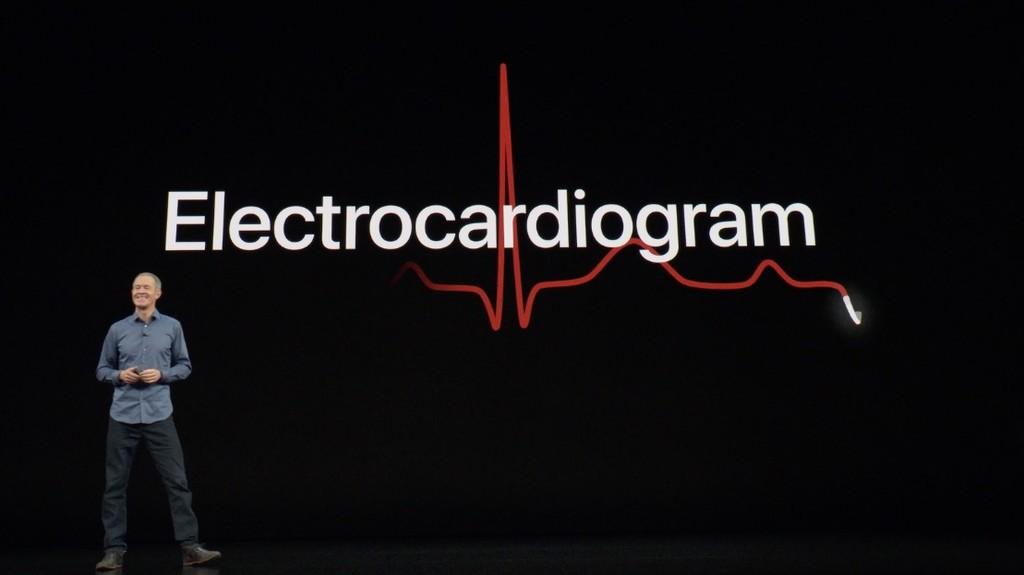 Los electrocardiogramas del Apple Watch tardarán en llegar, y sólo lo harán en los Estados Unidos de momento
