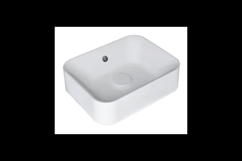 Lavabo Capsule blanco 48x13.2x38 cm