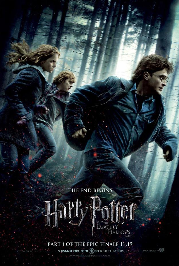 Foto de 'Harry Potter y Las Reliquias de la Muerte: Parte I', nuevos carteles (4/4)