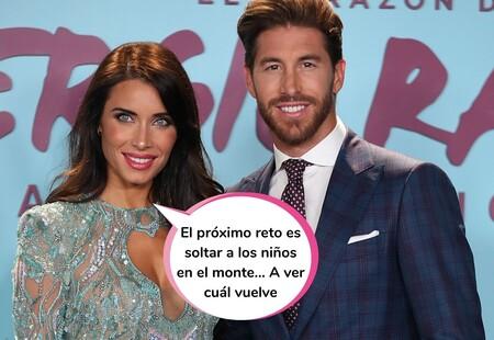 """¡Pili, los niños! Pilar Rubio y Sergio Ramos retan a sus hijos a una prueba de apnea y los seguidores echan fuego: """"No tiene ninguna gracia"""""""