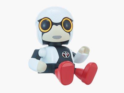 Este pequeño robot de Toyota busca ser nuestro compañero perfecto mientras conducimos