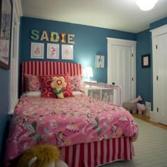 Foto 1 de 5 de la galería un-dormitorio-infantil-muy-femenino en Decoesfera