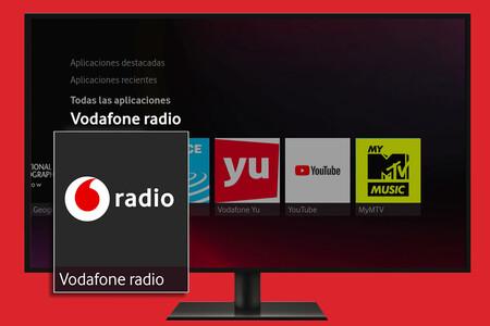 Vodafone TV añade la radio, con más de 100 emisoras en directo y podcasts