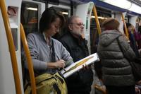 Miradas del Metro. Claire de Montlivault expone bajo tierra