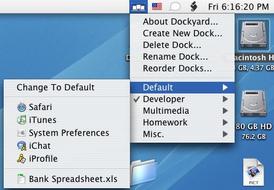"""Dockyard: Crea distintos """"docks"""" y cambia fácilmente entre ellos."""