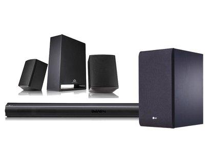 LG SJ4R: sonido 4.1 para tu TV plana por sólo 159 euros en Mediamarkt