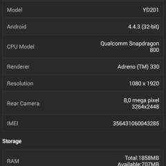 Foto 8 de 9 de la galería benchmarks-yotaphone-2 en Xataka