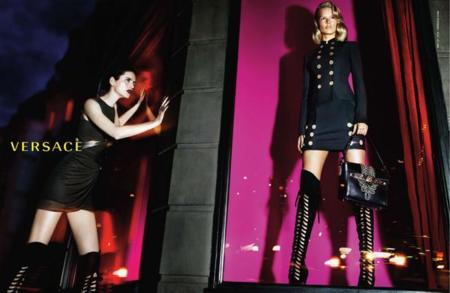 Stella Tennant modelos versace