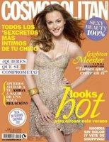 Leigthon Messter guapísima como siempre para Cosmopolitan España, Julio 2010