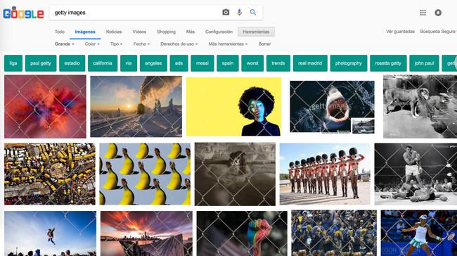"""Desaparece botón de """"ver imagen"""" en Google Imágenes"""