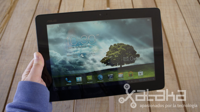 ASUS padfone 2 analisis tablet modo