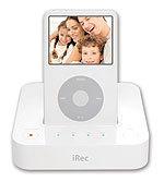 iRec, dock que graba vídeos directamente al iPod
