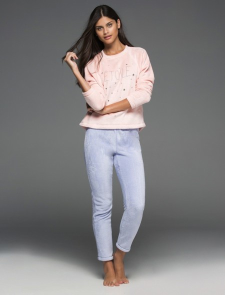 Pijama Fluffly Pastel