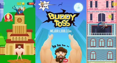 Buddy Toss, un divertido juego de lanzar a un amigo al espacio exterior