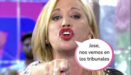 Belén Esteban emite un comunicado en 'Sálvame' y anuncia su decisión final contra María José Campanario