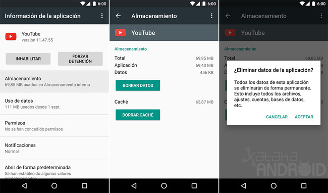 YouTube for Android: cheat to advance and rewind 10 seconds