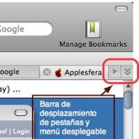 Camino 1.6 alpha 1 con nueva gestión de tabs