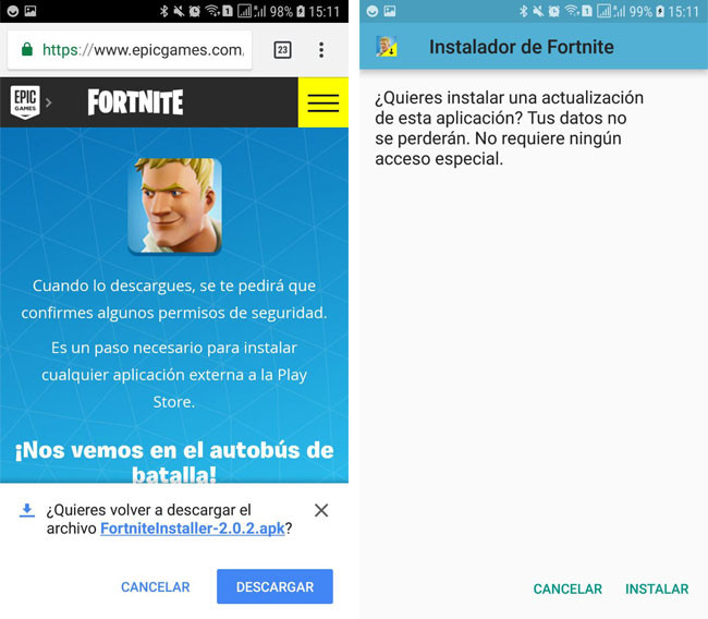 How to install Fortnite for Android – phoneia