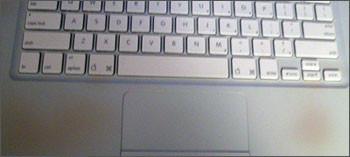 Manchas en los MacBook