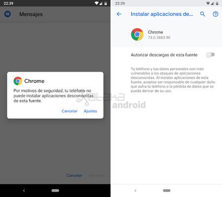 Android Q Orígenes Desconocidos