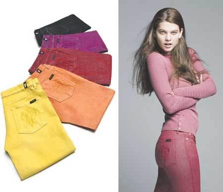 Pucci se une a la moda de los vaqueros de colores