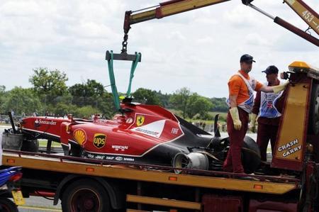 Ferrari duda de la presencia de Kimi Räikkönen en los test de esta semana
