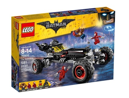 El batmóvil de la peli Lego Batman ahora está por sólo 54,99 euros y envío gratuito en Amazon