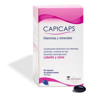 Capicaps Capsulas Cabello Unas Menarini Consumer Healthcare