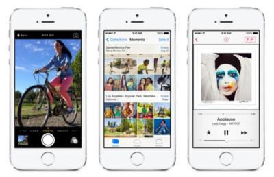 iPhone 5S frente a sus rivales