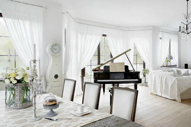 Apartamento blanco en varsovia
