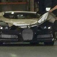 Aquí está la primera foto del Bugatti Chiron, desde... ¿Los Ángeles?