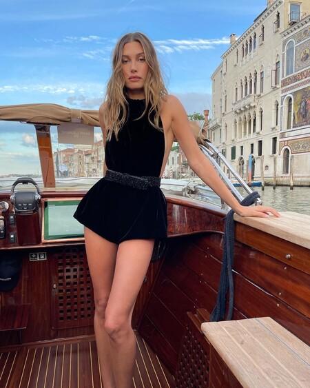 Hailey Bieber Baldwin Venecia Saint Laurent 03