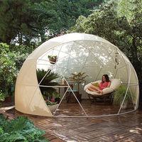 Garden Igloo, la cabaña que te permite disfrutar del verano en tu jardín casi todo el año, ahora también se encuentra en Amazon