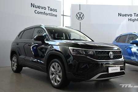 Volkswagen Taos Mexico Versiones 5