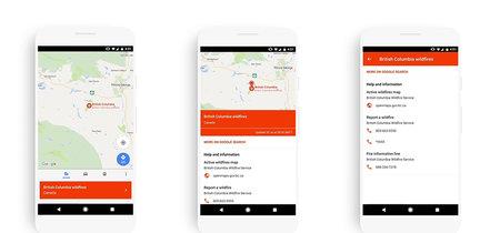 Así es como Google Maps para Android te ayudará en situaciones de crisis
