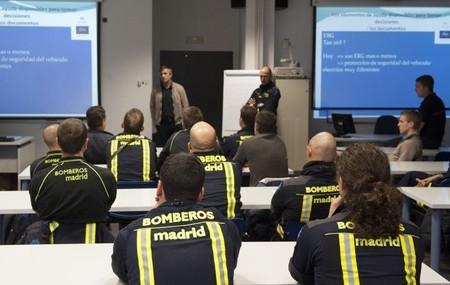 Renault Z.E. formación bomberos de Madrid