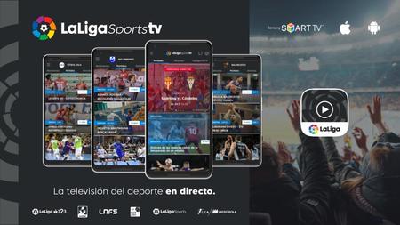 LaLiga lanza LaLigaSportsTV, una plataforma online para ver mucho más que fútbol